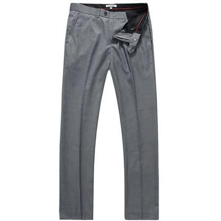 Lesmart 莱斯玛特 男款商务休闲直筒宽松中腰休闲裤 LX13010