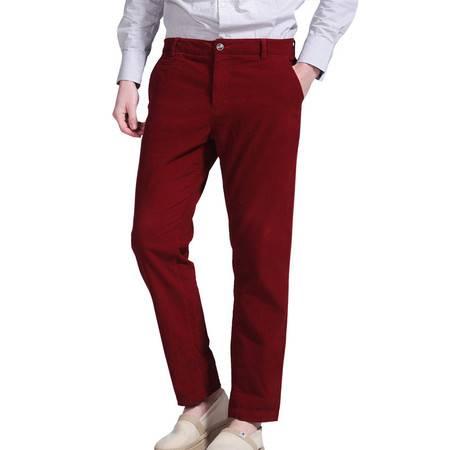 Lesmart莱斯玛特 男士新款灯芯绒休闲裤休闲微弹中腰时尚纯棉男士休闲裤LX13013