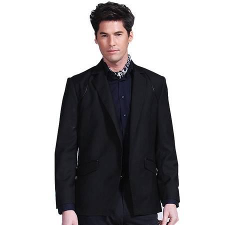 Lesmart莱斯玛特 男士新款男商务休闲西服 时尚英伦修身西装男装外套 FW13321