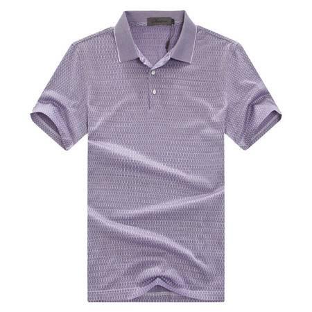 萨托尼夏季全棉休闲短袖T恤新款修身款12219179