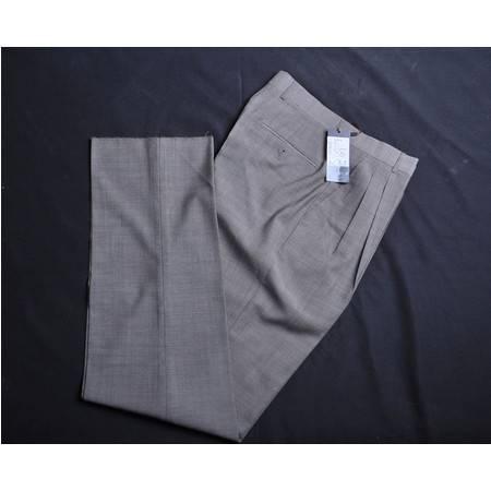 萨托尼专柜正品特价男士商务羊毛西裤0380150123