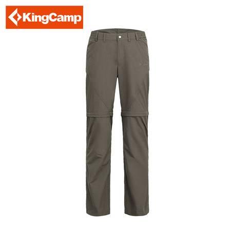 KingCamp/康尔 男女情侣户外款休闲速干裤可脱卸吸湿长裤 KWA102/KWA103