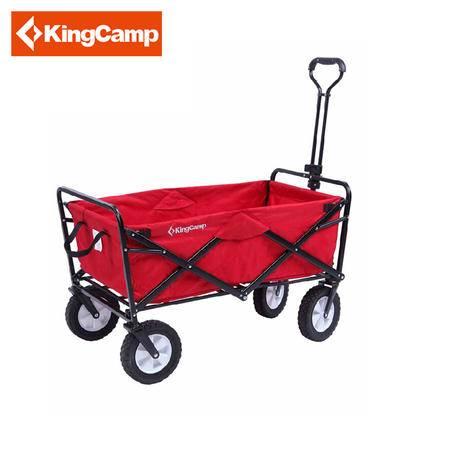 KingCamp/康尔户外露营必备营地车易携手拉折叠车 KC3909