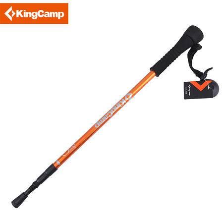 KingCamp/康尔登山杖 超轻铝合金,减震,带指南针相机支架 包邮 KA4633