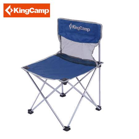 KingCamp/康尔新款户外野营便携靠背休闲高承重折叠椅 KC3852