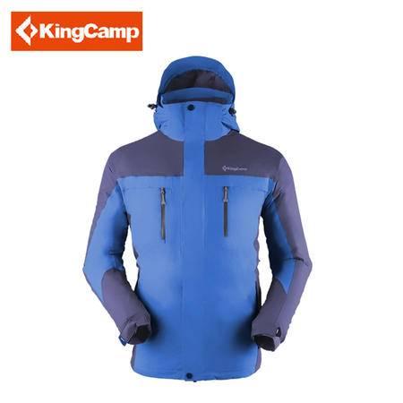 KingCamp/康尔 情侣户外秋冬防风保暖两件套冲锋衣KW9052-KW9053
