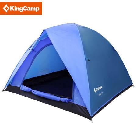 KingCamp康尔帐篷户外露营三人双层防风防水三季帐篷 包邮 KT3073