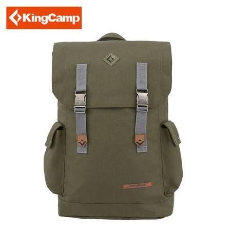 Kingcamp康尔15新款男女通用日常休闲背包 户外徒步旅行双肩包登山包 包邮 KB3322