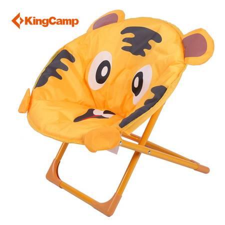 Kingcamp康尔儿童卡通老虎安全QQ椅 折叠沙滩椅 便携休闲椅 生日礼物 包邮 KC3877