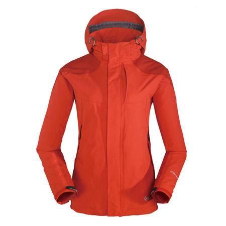 KingCamp/康尔 女款户外防风保暖三合一含抓绒内胆冲锋衣KW9028