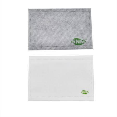 5NM 防霾防PM2.5竹炭净化 双效滤芯滤片组合(不含口罩)