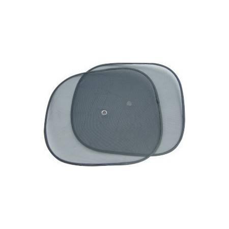 汽车防晒隔热遮阳挡 黑色小圆弧 侧挡遮阳 一对装 44×36