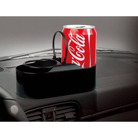 汽车饮料架 双环杯架 车载水杯架茶杯架 车用双杯座置物支架
