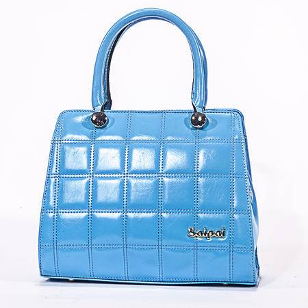 赛派正品女包手提斜跨包2014新款真皮女包包 时尚格纹手提包牛皮包6-V1671-542
