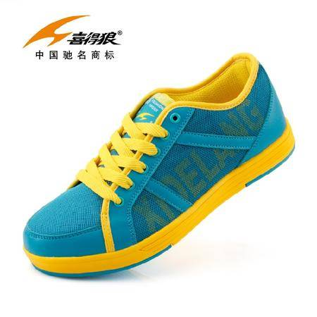 喜得狼新款专柜透气休闲鞋跑步鞋综训鞋运动休闲鞋男潮跑步H6325