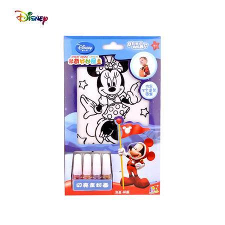 迪士尼Disney米奇公主儿童益智沙画金粉画DIY儿童绘画儿童玩具