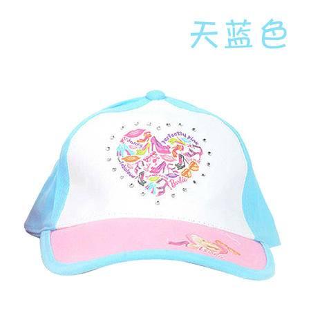 正品 芭比2014新款潮儿童太阳帽卡通可爱棒球帽旅游防嗮女童帽子