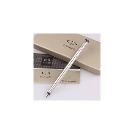 正品派克威雅钢杆白夹墨水笔 钢笔书写笔
