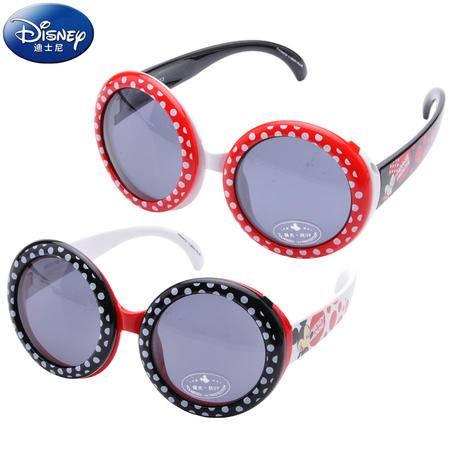 迪士尼(DISNEY) 米奇米妮儿童太阳镜宝宝太阳镜防紫100%太阳镜墨镜9611