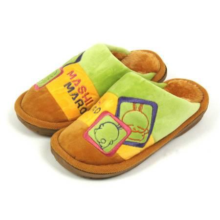 冬季拖鞋室内居家拖鞋流氓兔厚底毛绒拖鞋(胖胖兔)KH-3101