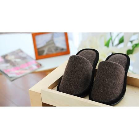 2015春夏新款特卖高级室内休闲时尚运动男式拖鞋 咖啡色 42-43码