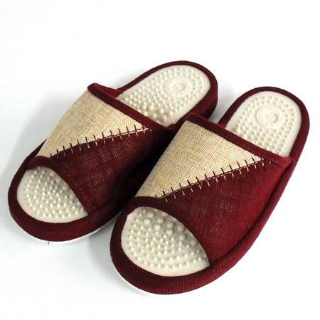 趾压板按摩拖鞋穴位保健脚底按摩鞋夏季男女情侣款软底家居凉拖鞋