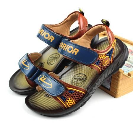 回力童鞋儿童凉鞋 2015夏季新款韩版潮 男童鞋宝宝凉鞋真皮沙滩鞋