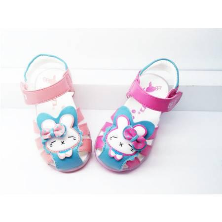 回力童鞋2015新款女童凉鞋真皮女大童公主鞋宝宝凉鞋女孩儿童鞋
