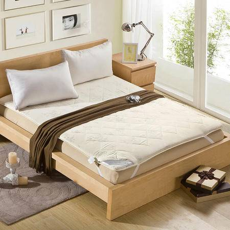 锦佩正品 榻榻米可折叠保暖羊毛床垫 加大单人学生床褥 加厚1.2米床褥子