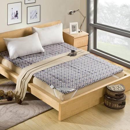 锦佩家纺 榻榻米学生床垫 可折叠加厚褥子 席梦思床垫 1.35米床宿舍垫子