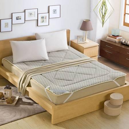 锦佩正品 榻榻米可折叠保暖蚕宝加厚床垫 单人学生床褥 加厚双人褥子1.8米床