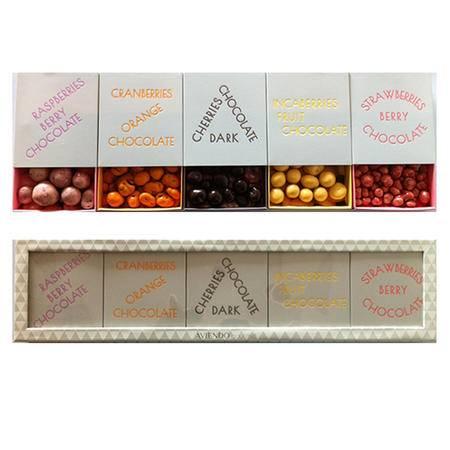 丹麦奢侈品牌--Aviendo gourmet/彤卓有机浆果巧克力礼盒