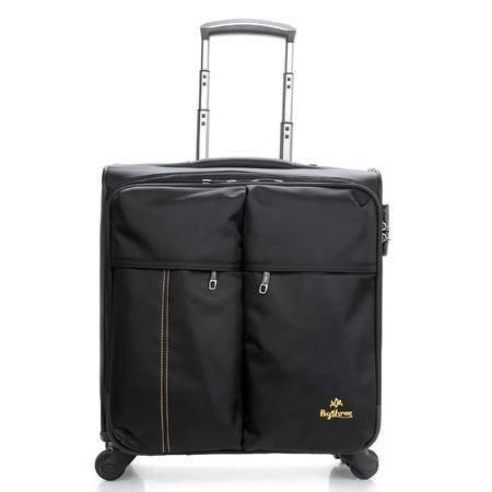 贝格斯瑞 16寸电脑拉杆箱 商务登机箱旅行箱 行李箱密码手提箱包B1171