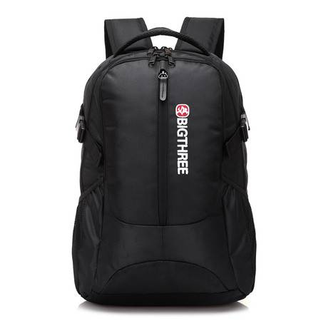 <河北电商》贝格斯瑞双肩背包 商务男士电脑包学生书包休闲旅行129050