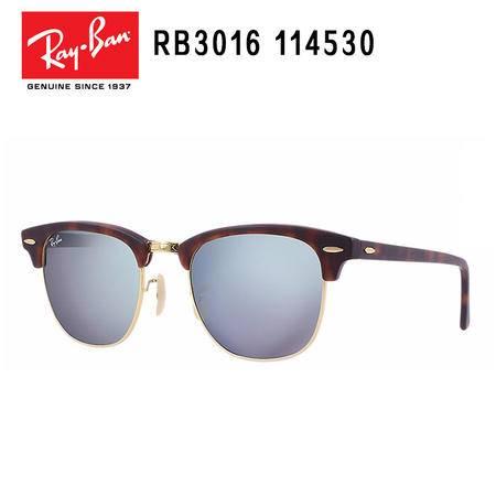 Ray-Ban 雷朋 派对达人系列 男女通用款太阳镜 RB3016-114530-51
