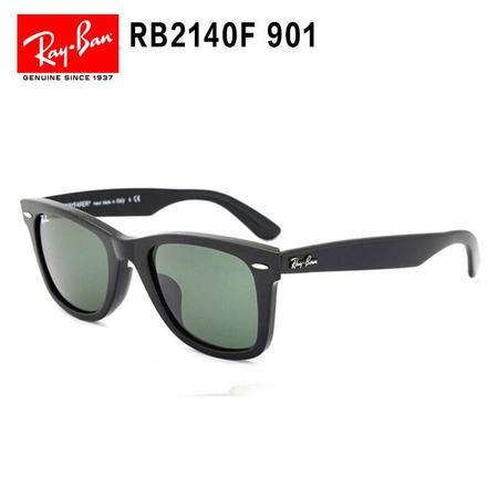 Ray-Ban 雷朋 黑框墨绿片 意大利男女通用款太阳镜  RB2140F-901-52