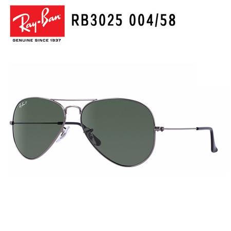 Ray-Ban 雷朋 时尚潮流 代表者系列 男款意大利太阳镜 RB3025-004/58-62