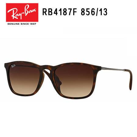 Ray-Ban 雷朋 茶色渐变 时尚复古太阳眼镜 RB4187F-856/13-54