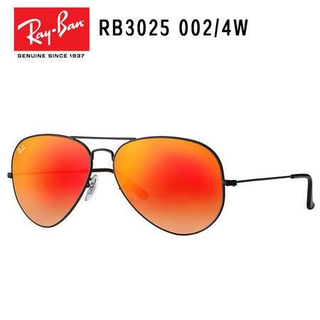 RayBan雷朋 金属镜框 飞行员系列 男女通用款 防紫外线太阳墨镜RB3025-002/4W-62