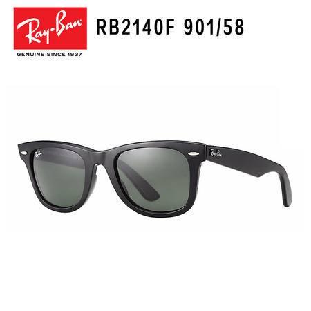 Ray-Ban 雷朋 黑框偏光 时尚复古意大利太阳镜 RB2140F-901/58-54