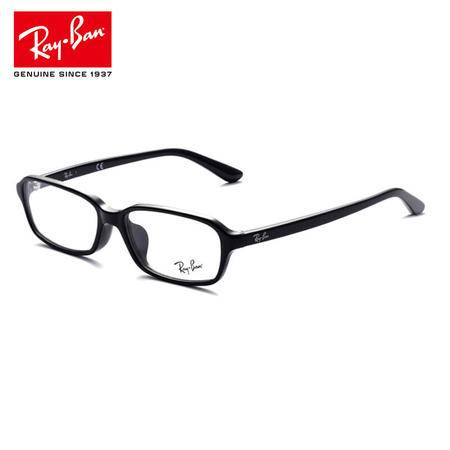 RayBan 雷朋眼镜框亚洲定制 黑色全框板材 男女近视眼镜架 RX5293D 2000