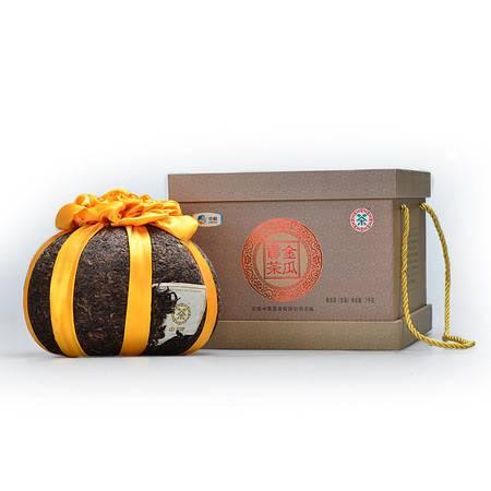 中茶 云南普洱 普洱生茶 2011年金瓜贡茶礼盒装3KG/个 典藏级茶礼