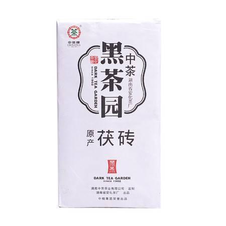 中茶 茶叶 安化黑茶 2012年闻黑原产茯砖800g/块(2块赠精美礼袋)中粮荣誉出品