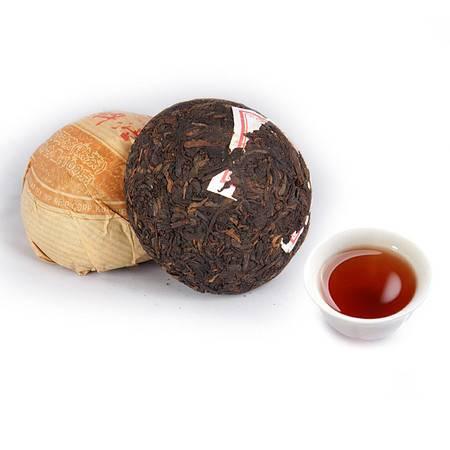 中茶 黑茶叶 云南普洱茶 09年普洱沱茶(熟)100g/沱 普洱典范