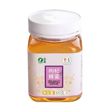 中粮 山萃 枸杞蜂蜜420克/瓶 源于自然 奉献健康