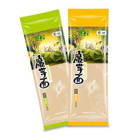 中粮 山萃 桑叶/南瓜魔芋面420克/袋*2组合(细面)唤醒主食活力 更多膳食纤维 更高生活品质