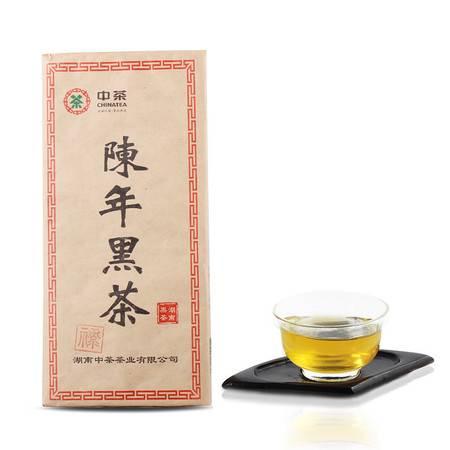 中茶黑茶园 安化黑茶 茶叶 22年陈年老黑茶1.8公斤/块 浓缩黑茶历史 尽显黑茶神韵