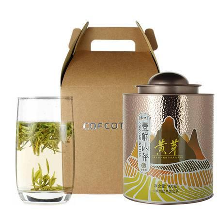 中茶 绿茶 2016年壹桶山茶系列之CTA1501霍山黄芽160克/桶
