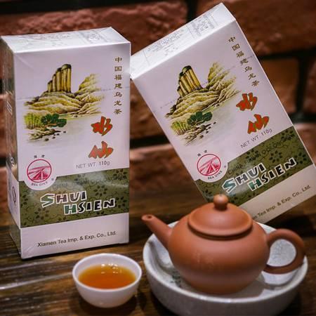 中茶 海堤 武夷岩茶 乌龙茶 AT203水仙110克/盒 足火带陈香味 中粮荣誉出品