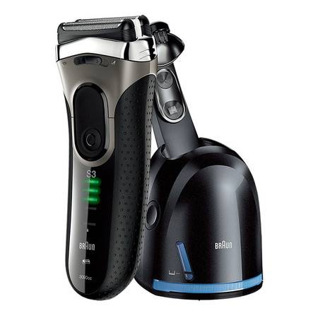 博朗电动剃须刀3系3090CC全身水洗充电往复式刮胡刀